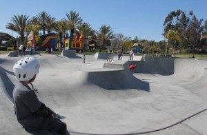 The Martin Luther King Skate Park