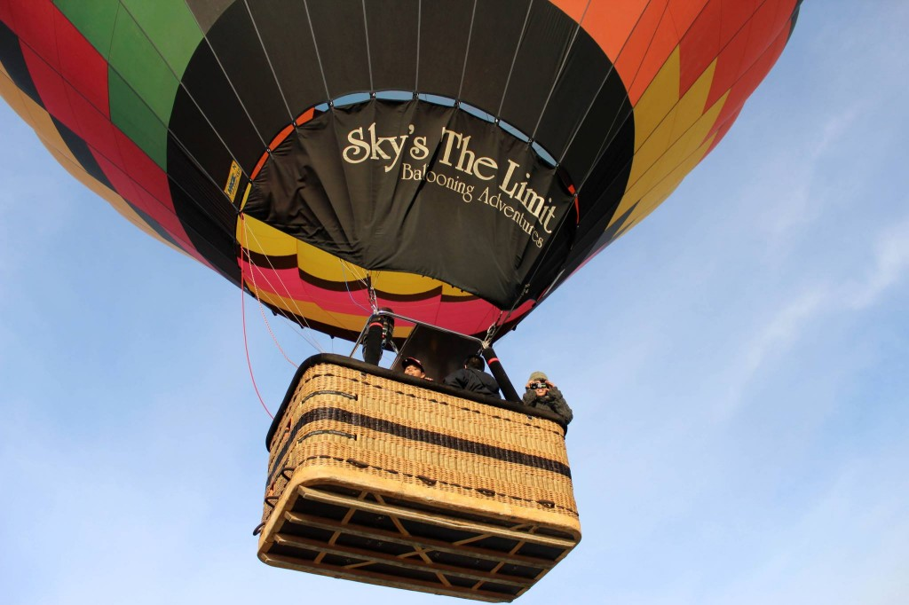 Hot Air Balloon Companies North County San Diego | YNC