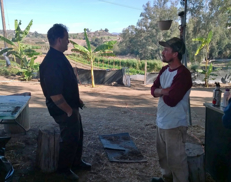 Bistro West Farm Tour - Executive Chef Jeff and Farm Manager Luke Girling