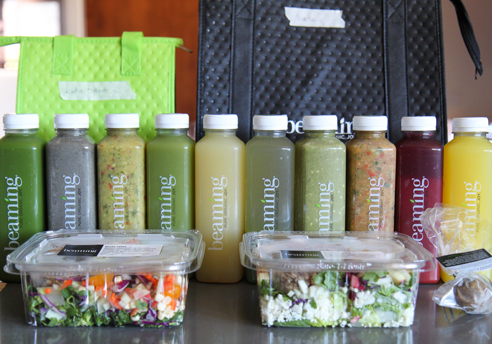 beaming lifestyle cleanse salads