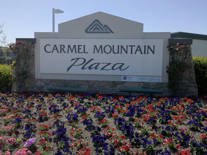 Carmel Mountain Plaza Sign