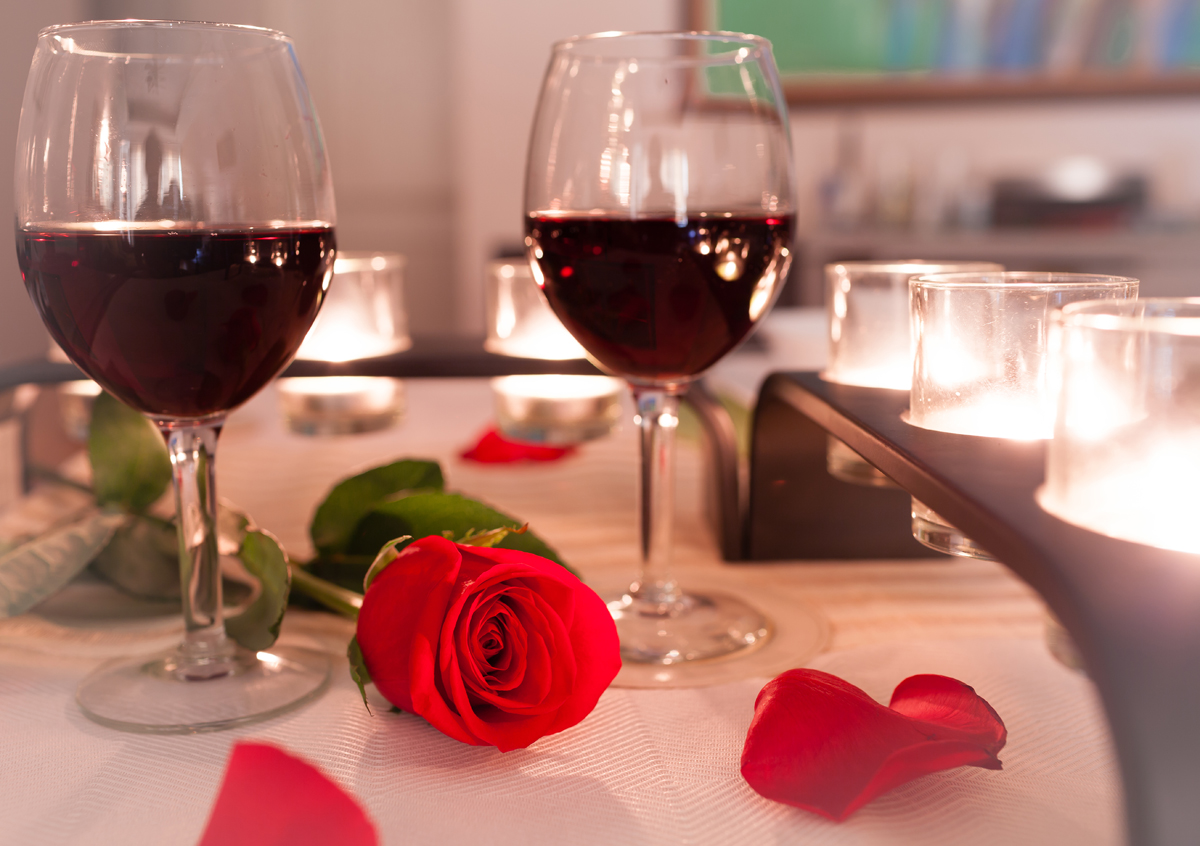 Romantic Valentine's Day Dinner Menus in North County San Diego