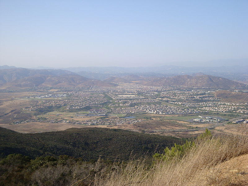 View of 4S Ranch from Black Mountain