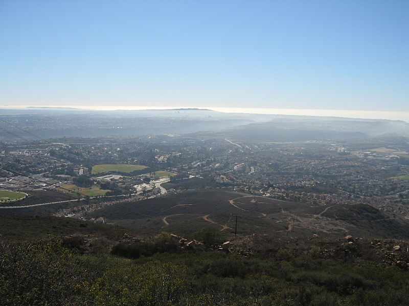 View from Black Mountain