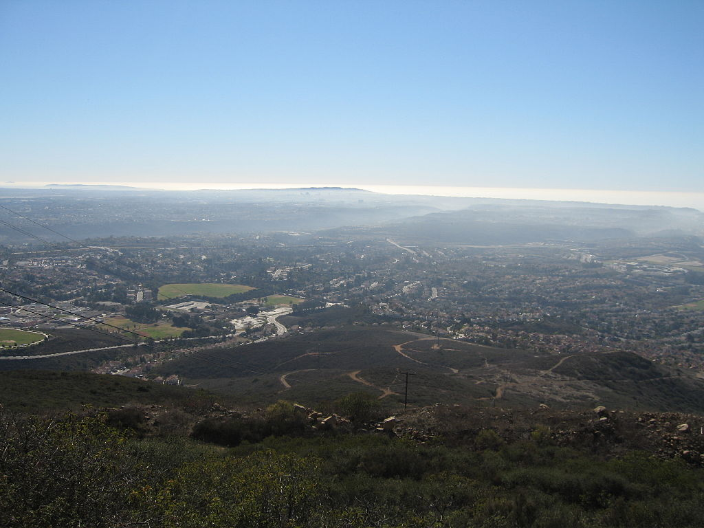 View from Black Mountain Open Space Park
