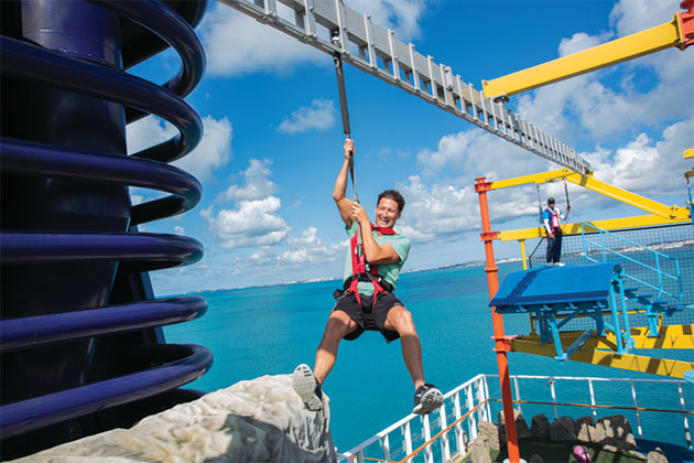 Norwegian Cruise Ropes Course Your North County