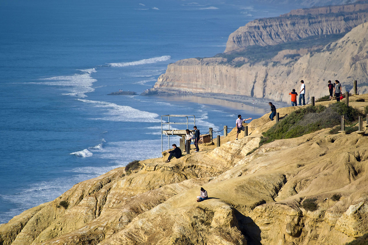 Hiking at Torrey Pines