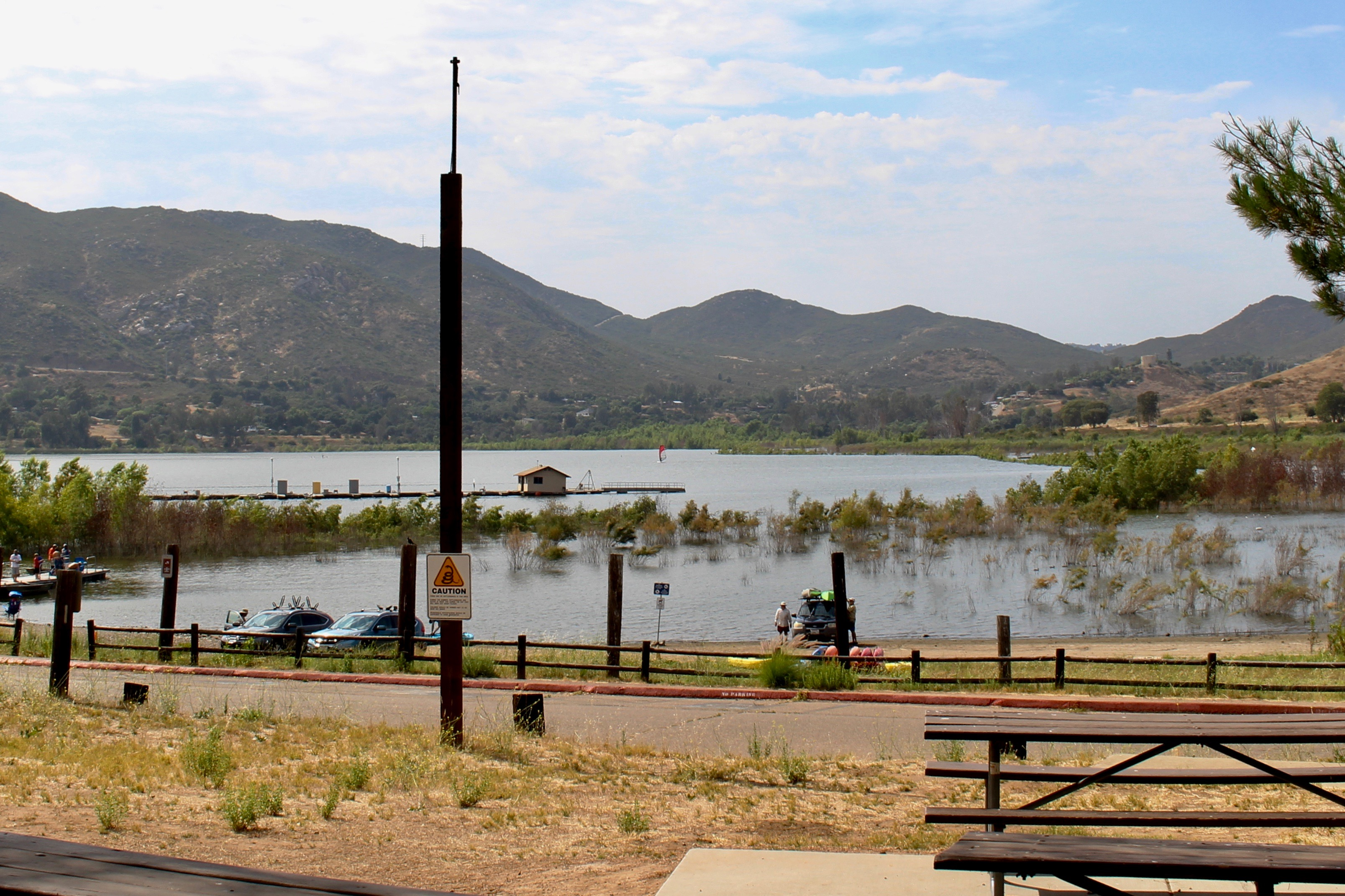 lake hodges picnic area