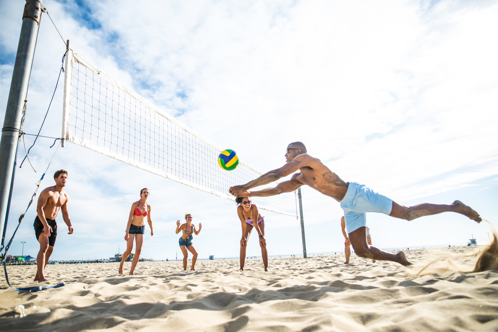 things to do in san diego beach volleyball
